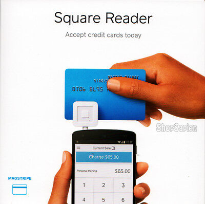 Square Reader - Credit Card Reader For Mobile Devices - Brand New Retail Box