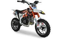 50cc 4 stroke dirt bike mint condition