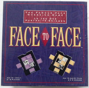 Face to Face Board Game 1993 Edition