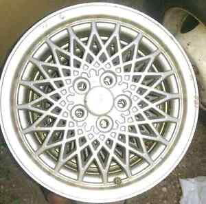 "15"" alloy rims 5x100"