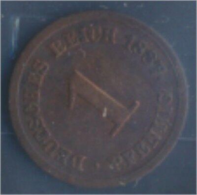 Deutsches Reich Jägernr: 1 1887 E sehr schön Bronze 1887 1 Pfennig (7849193