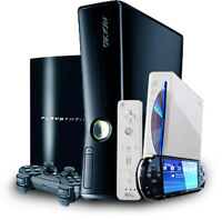 Playstation PS4 PS3 YLOD XBOX ONE RROD Wii PSP PERMANENT Repairs