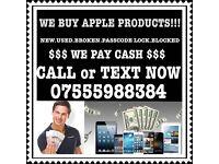 We Pay Cash iPad iPhone. 7 6s 6s Plus 6 6+ SE Samsung S7 edge s6 S7 B LOCK N O Signal faulty New Use