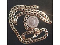 9ct gold chain 15.5 grams