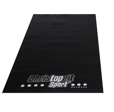 Bodenschutzmatte für Fitnessgeräte Christopeit Unterlegmatte 160 x 84 cm