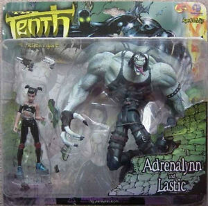 Adrenalynn and Lastic from Tenth Action Figure