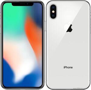 iPhone X 64GB unlocked Silver