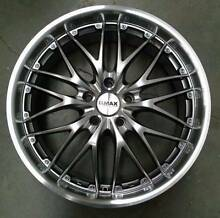"""(Falcon) G.MAX 18"""" Defiant I Wheels + Continental 235/40-18 Tyres Mitcham Whitehorse Area Preview"""