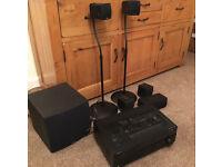 Yamaha 5.1 surround sound