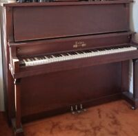 Antique Weber Upright Piano