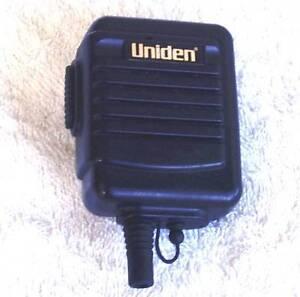 Uniden Portable Lapel Microphone&Speaker NO CURLY CORD JG1 Blacktown Area Preview