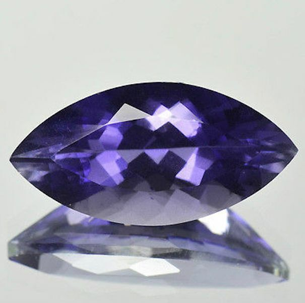 Natural Genuine Iolite AAA Marquise Faceted Loose Gemstones (4x2mm - 10x5mm)