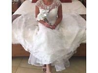 Ronald Joyce wedding dress!