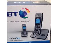 BT 2000 TWIN PHONES
