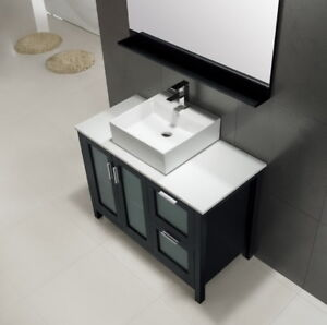 Contemporary Bathroom Vanity & Cabinet Blazing Jewel BB42 950.00