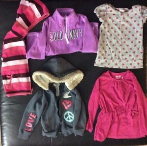 Size 5 girls brand name clothes