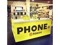 Mobile Screen Repair@ The Range Kidderminster