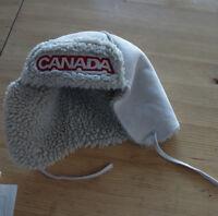 Faux Sheepskin Canada Hat - HBC
