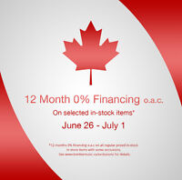 12 Months 0% Financing at Tom Lee Music