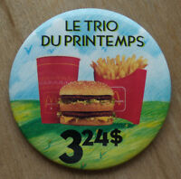 Macarons / Broche / pin / Restaurant Mc Donald's
