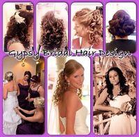 Gypsy Bridal Hair Design