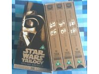 Star Wars Trilogy Special Edition VHS Set