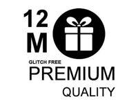 12 Month Warranty Gift for Openbox, skybox V8s F3 F5 Libertview, VU SOLO, Zgemma