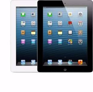 APPLE iPAD  4th gen CELLULAR 4G  WIFI 16GB  BLACK  WARRANTY!