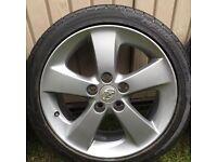 """Toyota alloy wheels & tyres 17"""""""