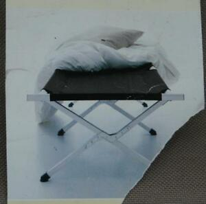 2 PC Outdoors Plein Air Folding Camping Cots