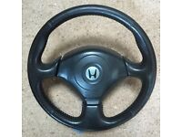 Honda S2000 Steering wheel and airbag