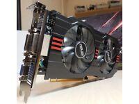 Bargain price Asus Nvidia GeForce GTX 750 TI 2GB OC edition
