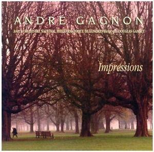 """ANDRE GAGNON """"IMPRESSIONS"""" Piano"""