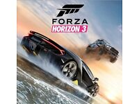 Xbox one Forza horizon 3 game
