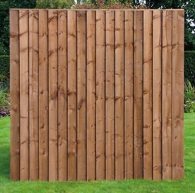 x24 Heavy Duty Vertilap Fence Panel (6ft x 6ft) £31.12 Each, Cheap, Fencing,Wood