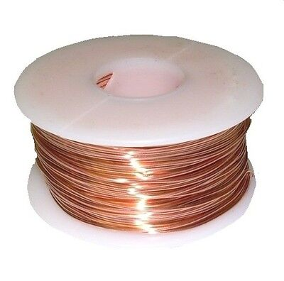 24 Ga Copper Solid Round Wire (DEAD SOFT)1/2 LB.  SPOOL 409FT. OCTOBER SPECIAL