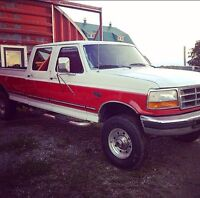 1997 Ford F-350 7.3 Diesel, 4x4, crew cab, next step from f250