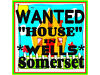 IN WELLS ONLY,HOUSE WANTED Glastonbury