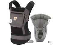 Ergo baby performance baby carrier + performance infant insert
