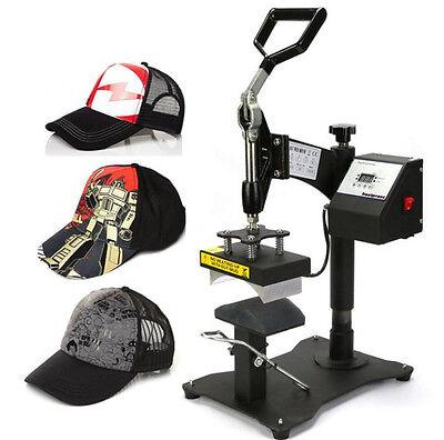 Ce Digital Swing Arm Hatball Cap Heat Transfer Press Sublimation Machine