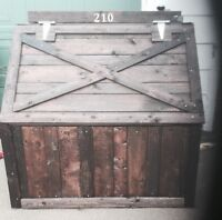 Garbage bins and other wood project