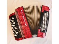 Weltmeister 96 bass b system button accordion
