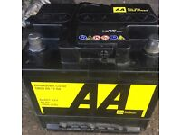 AA recommended Car battery 12v 40ah
