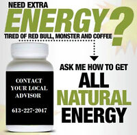 Need Extra Energy.. Natural Better than energy drinks and coffee