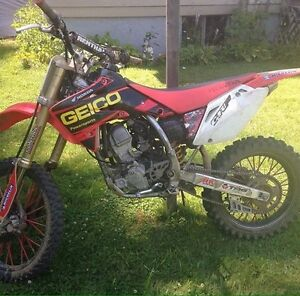 Honda Crf150R big wheel