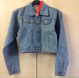 New Denim Jean Jacket, size 10