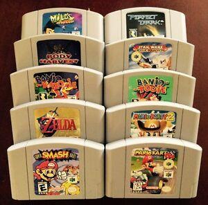 Vintage Nintendo 64/N64 Games