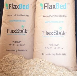 FLAX BEDDING FOR ALL ANIMALS
