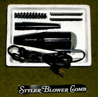 Charlescraft styler blower comb with 3 attachments