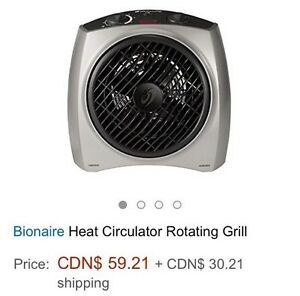 Bionaire Space Heater